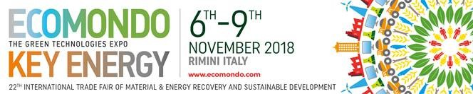 Ecomondo Italy 2018 – Nov 6th-9th – Stop by booth #002 to chat with our experts