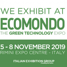 Ecomondo Italy 2019 – Nov 5th-8th – Stop by booth #057 to chat with our experts